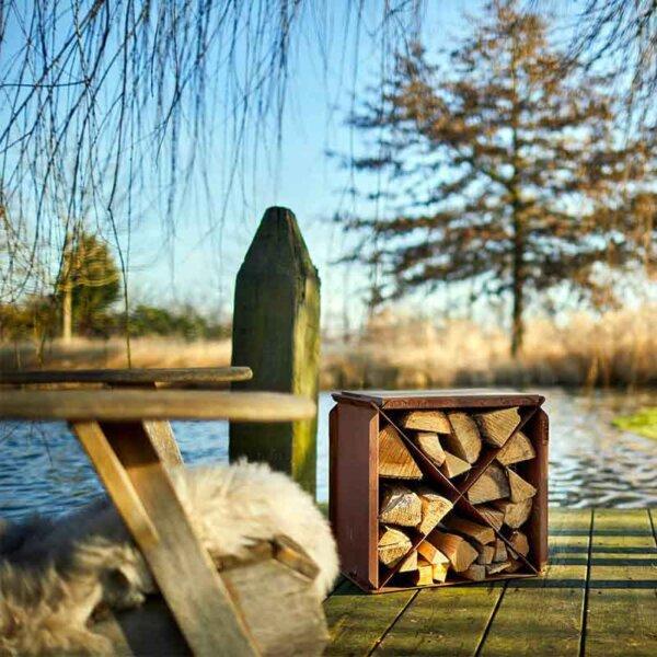 RB73 Holzsitz Blox am See Stimmung