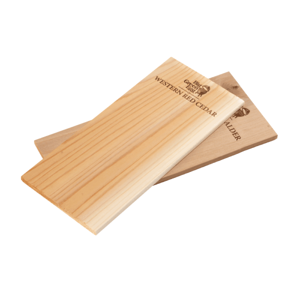 Räucherbretter Holzplanken aus Zedernholz oder Erlenholz