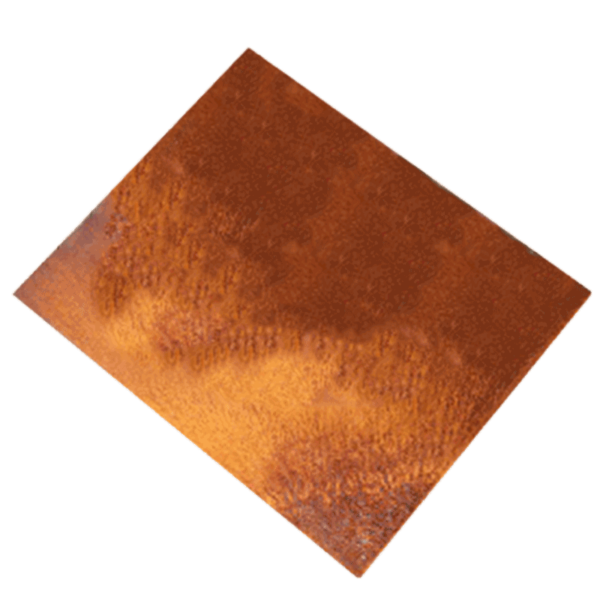 RB73 Bodenplatte Cortenstahl für Quaruba, Piquia & Bijuga