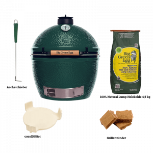biggreenegg-starterpaket-xlarge-Big Green Egg XLarge Einbau-Starter-Set