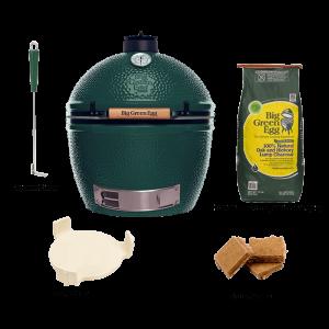 biggreenegg-starterpaket-xlarge-Big Green Egg XLarge Einbau-Starter-Set